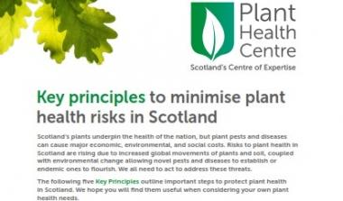 Image of the Key Principles Information Booklet